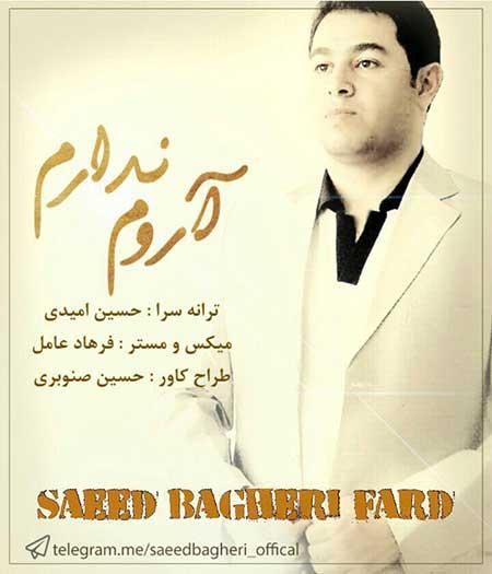 دانلود آهنگ جدید سعید باقری فرد به نام آروم ندارم