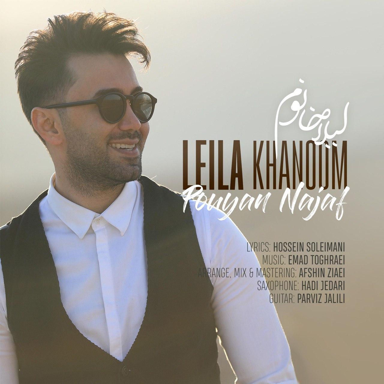 دانلود آهنگ جدید پویان نجف به نام لیلا خانوم